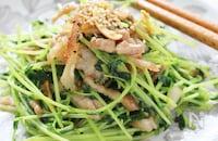 栄養満点の「豆苗」人気レシピ15選!シャキッと美味しいスーパーフード