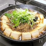 あっさりと食べる「肉豆腐鍋」