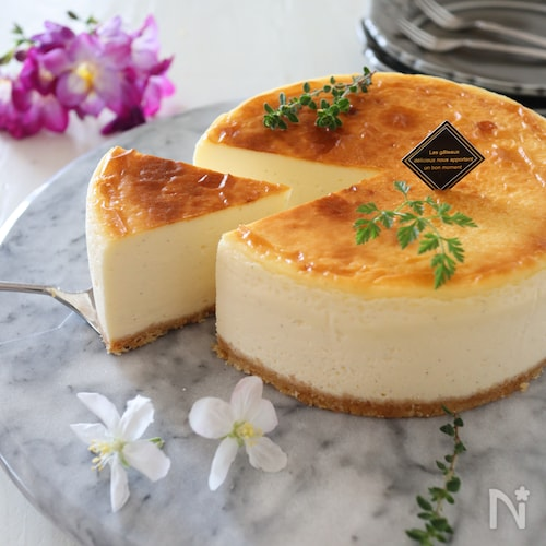 とろける半熟チーズケーキ