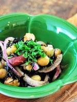 缶詰レシピ ひじきとお豆の栄養たっぷりマリネ