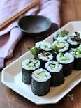 ツナマヨときゅうりのサラダ巻き寿司