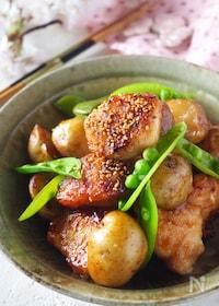 『ご飯がススム*新じゃがと鶏肉の甘辛炒め【鶏肉切り方保存版】』