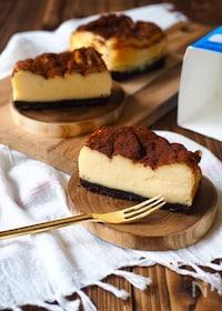 『トースターdeオレオ・チーズケーキ』