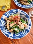 鶏ハムを使おう♪鶏胸とニラのピリ辛ウマ和え(発酵レシピあり)