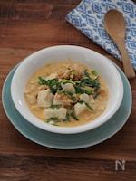 簡単ヘルシー!豆乳キムチの玄米スープ