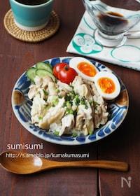 『簡単!炊飯器でカオマンガイ(シンガポールチキンライス)』