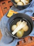 豆腐白玉のお月見汁