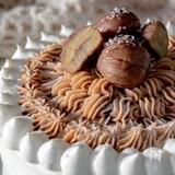 極上の味♡モンブランショートケーキ