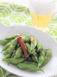 あとひく美味しさ!枝豆のにんにく炒め