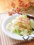 ボリュームたっぷり!生姜香る〜レタスと油揚げのさっぱりサラダ