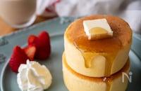 星乃珈琲店風♡ホットケーキミックスで作るスフレパンケーキ