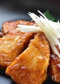 『漬け込みいらず〜メカジキの生姜焼き〜』