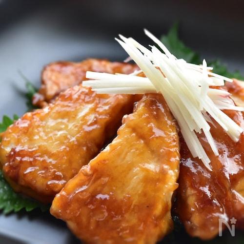 漬け込みいらず〜メカジキの生姜焼き〜