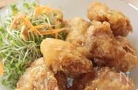 カリッと鶏の竜田揚げ、生姜あんかけ§カリッカリの揚げ方