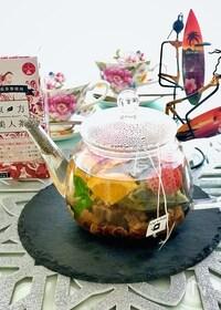『フレッシュ&ドライフルーツで美味しさアップ♪『東方美人茶』』
