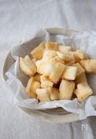 切り餅で簡単!手作りおかき【塩・青のり・きなこ】