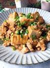 厚揚げと鶏ひき肉のそぼろ煮