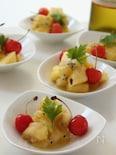 パイナップル、キウイ、バナナの塩レモンスパイスマリネ