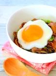 【簡単!】キャベツと豚肉のオイスター炒め丼の作り方レシピ