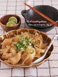 鶏肉とピーラー大根で材料2つ*めんつゆで簡単さっぱり煮