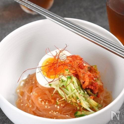 【さっぱり辛旨!】春雨で韓国ビビン麺