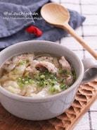 豚こまが入るとボリューム満点♡豚こまキャベツの春雨スープ♡
