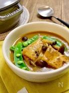 簡単*厚揚げとしめじのカレースープ