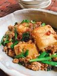 豆腐と挽肉の旨炒め☆ご飯がすすみます。