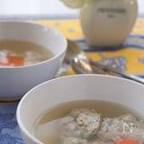 包丁要らずの「イワシのふわふわスープ」