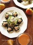 洋ナシとコチュジャンの韓国風冷やしつけ麺