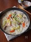 白菜の中華風クリーム煮