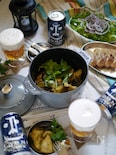 【グランピングに】茄子と鶏もも肉のスパイシータンドリーチキン