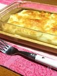 スライスポテトのチーズ焼き
