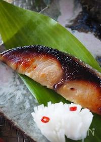 『*ポリ袋で魚の粕漬け*簡単手作り作り置き』