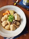 里芋と鶏団子のコロコロ煮物