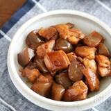 作りおき&お弁当にも*鶏肉とこんにゃくの照り煮