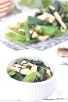 小松菜とひじきの洋風和え