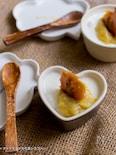 【泡だて不要マシュマロムース】簡単カラメル&バナナソース