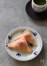 『レンジで作れるフレッシュいちごの生八ッ橋』