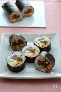 野菜たっぷり太巻き(恵方巻)