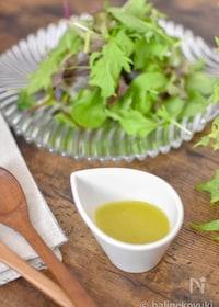 『グリーンサラダが美味しいわさびドレッシング』