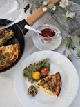 里芋のスパニッシュオムレツ