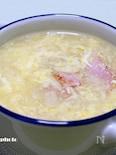 コンソメスープの卵とじ