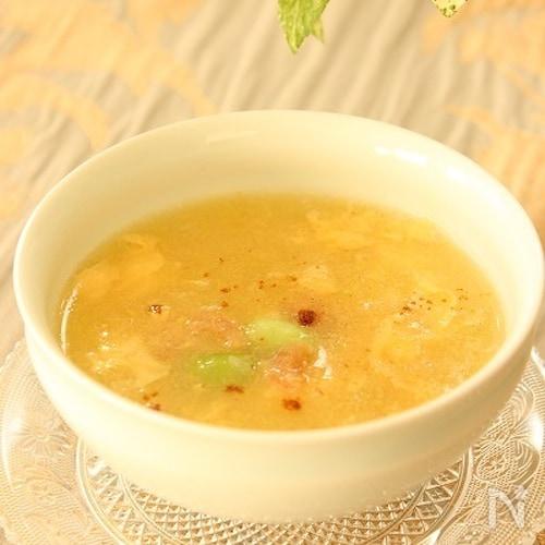アジアンなコーンスープ