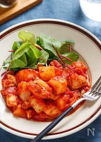 『鶏大根のトマト煮【#作り置き #お弁当 #簡単 #時短】』