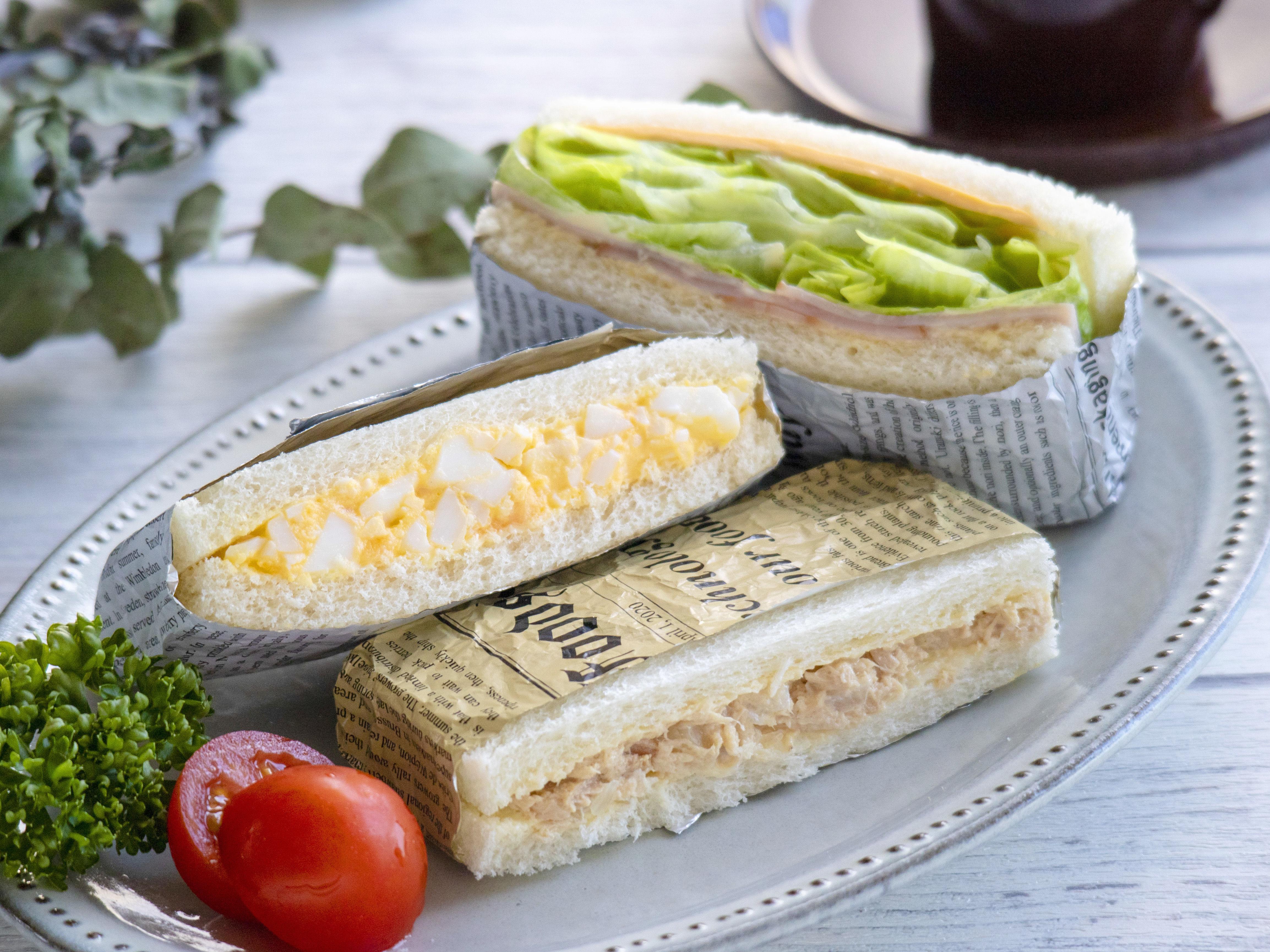 サンドイッチ 弁当