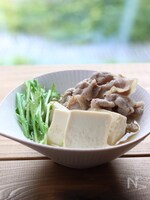 豚肉と豆腐の柚子胡椒煮