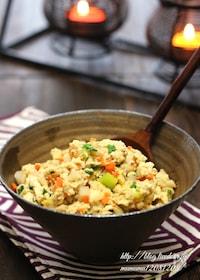 『【基本の和食】具だくさん・炒り豆腐。』