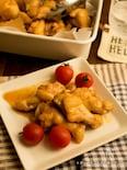 大量に作れるチキンのマーマレード焼き