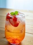 美酢(ミチョ)風♡すぐに飲めるいちごのサワードリンク